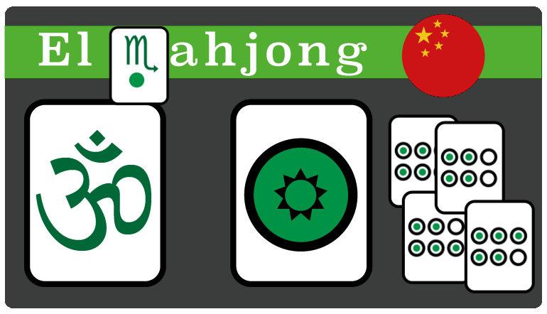 El Juego de Cartas Chino Mahjong