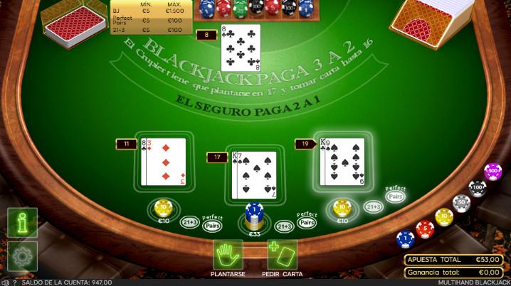 888 Blackjack Gratis